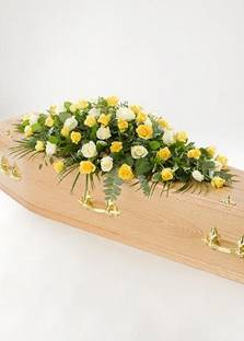 Rose Double Ended Coffin Spray